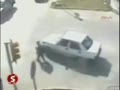 Driver Takes Sharp Turn and Kid Falls Out