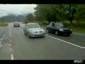 Street Racers Collide Head-On with Oncoming Traffic