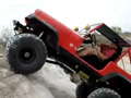 1984 Jeep Climbing with 38 Inch Tires