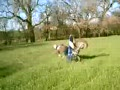 Boy Tries To Jump A Dirt Bike