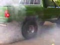 1984 Toyota Burnout on 35-Inch Wheels!