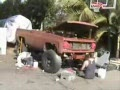 Spray Painting a Truck- Redneck