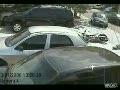 Cut Off by Woman Driver - Biker Flies