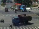 Car Crashes Caught On Traffic Cam.