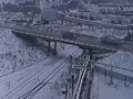 Passing On A Bridge In Russia