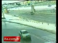 Trucker hits bridge