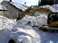 The Fastest Way to Dig a Van Out of a Snow Bank