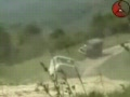 Russian Military Vehicles Ambushed