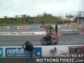 Double Drag Racing Accident