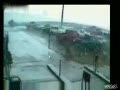 Tornado Throws Cars at Impound Lot