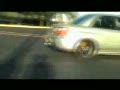 Ramping a Subaru STi in a Church Parking Lot