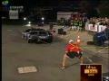 [World Record] Man Holds Lamborghini for 7 Seconds