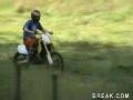 Great Dirt Bike Crash