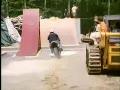 Crazy Motorcycle Jump and Crash