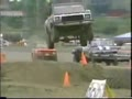 Some crazy air in the tough truck contest 1995