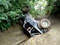 Flops jeep on upper twister