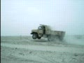 Jumping a Dump Truck in Iraq