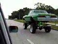 Huge Lift Kit on Car